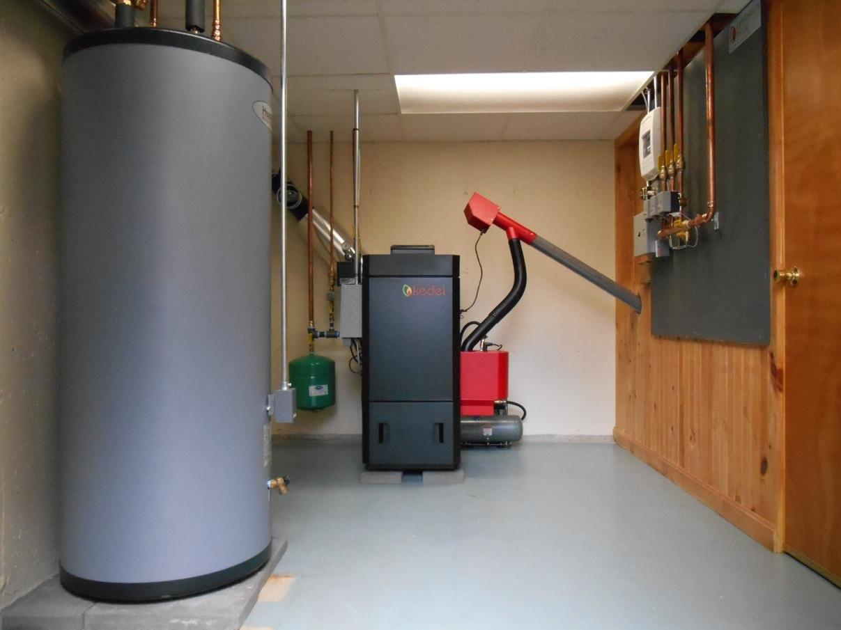 Kedel Blackstar Wood Pellet Boiler Installation